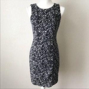 H&M Animal Print Back Keyhole Sleeveless Dress 6